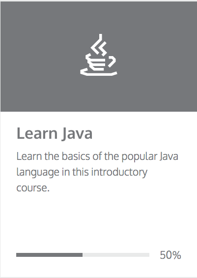 Java on Codeacademy