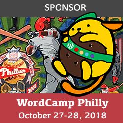WordCamp 2018 Sponsor badge